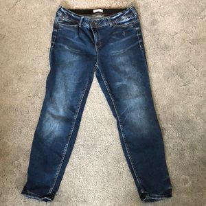 Shaping ankle jeans